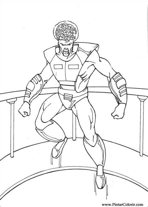 Desenhos Para Pintar e Colorir Hulk - Imprimir Desenho 034