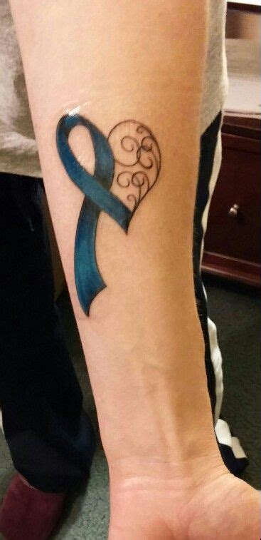 colon cancer tattoo designs best 25 cancer awareness ideas on