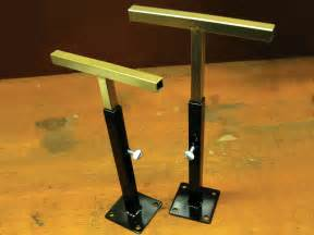 Black Trunk Coffee Table Weld A Pair Of Stands Make Diy Projects How Tos
