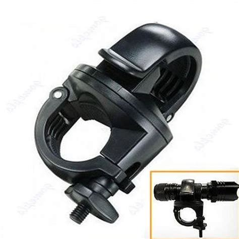 Torch Light Mount Holder For Bicycle Pe flashlight mount holder for torch clip led bicycle bike in