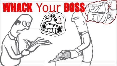 whack  boss gameplay maneras de vengarte de tu jefe de la oficina youtube