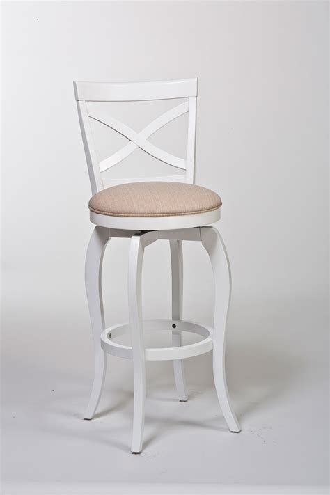 White And Brown Bar Stools by White Wood Bar Stools Providing Enjoyment In Your Kitchen