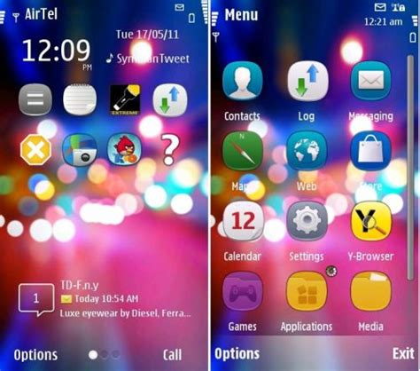 download themes for nokia s60v3 theme nokia city light by novag mein symbian
