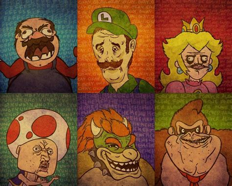 Super Mario Memes - awe some super meme bros