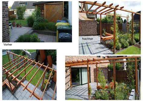 Gartengestaltung Vorher Nachher by Vorher Nachher Gartenplanung Gartengestaltung Aachen