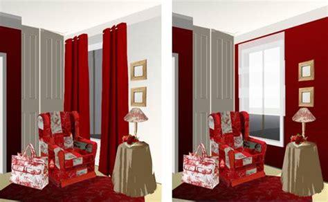 Rideaux Décoration Intérieure Salon by Cuisine Loft Coloris Blanc