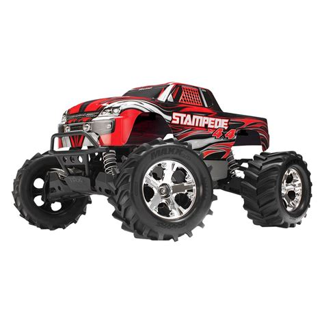 traxxas boats nz traxxas 174 red electric stede 1 10 scale monster truck