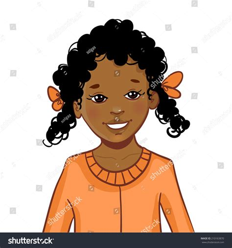 Free Black Hairstyles Book by American Curly Stock Vector