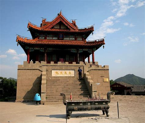 architect in chinese china traditional buildings kuixing tower one most
