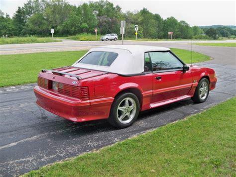 1988 mustang fox 1988 ford mustang gt fox convertible 2 door 5 0l