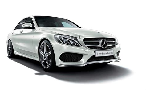 mercedes c sport the mercedes c 200 sports edition is a japanese take on sport