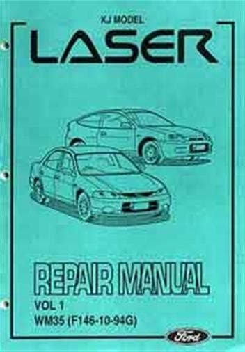 how to download repair manuals 1988 ford laser lane departure warning ford laser kj 1994 1996 factory repair manual 4 volume set ford australia
