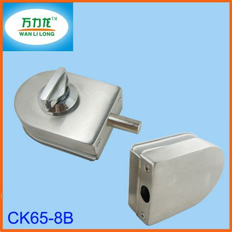 Glass Shower Door Locks Glass Shower Screen Lock Keyless Glass Door Floor Lock Ck65 8b Buy Glass Door Floor Lock