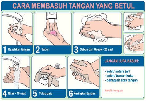 cegah influenza ahn amalkan mencuci tangan  betul persatuan penduduk pulasan zon