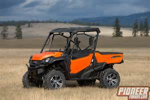 Honda Side By Side Forum Honda Pioneer 1000 Orange Photos