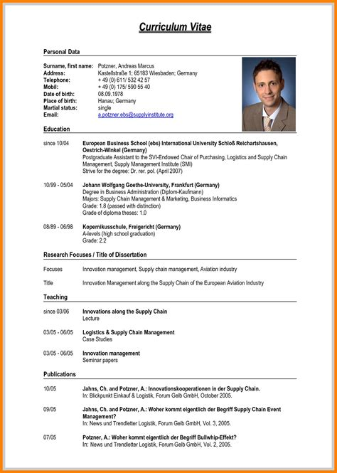 basic resume example a simple samples equipped pics though cv