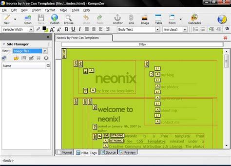 best wysiwyg html editor best html editor freeware wysiwyg free