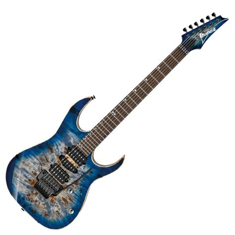 Gitar Ibanez Premium Paketan 1 ibanez rg1070pbz premium electric guitar cerulean blue burst at gear4music