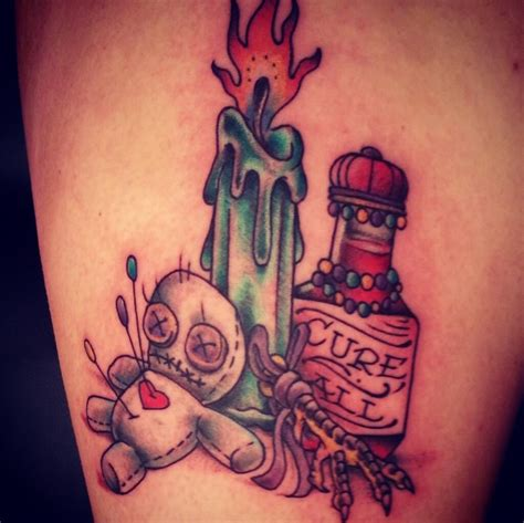 new orleans tattoos voo doo by matty runks electric ladyland new