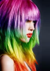 hair color dyes dip dye hair