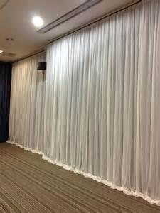 wall drapery event wall drapes