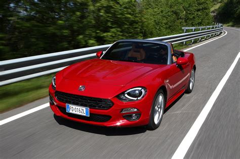 fiat spider 2016 fiat 124 spider convertible supercars net