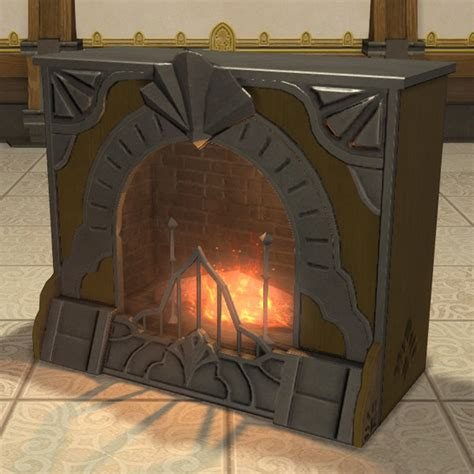 manor fireplace ffxiv housing table