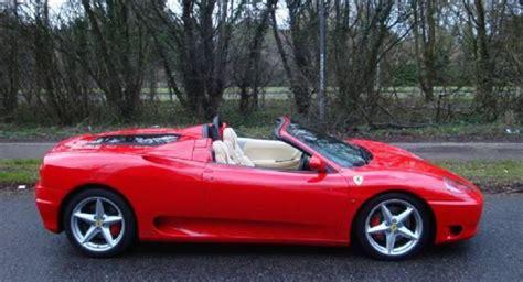 Ferrari 360 Hire by Ferrari 360 Spider Hire