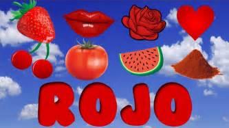 color rojo el color rojo para ni 241 os cosas de color rojo
