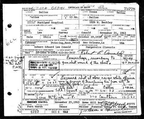 State Of Tx Records Jfk S Assassination In New Historical Records