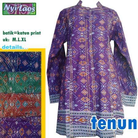 Iriana Blouse Batik Jumbo Tunik tunik batik batik nyi laos