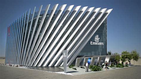 emirates unveils  pavilion  expo  dubai focusing