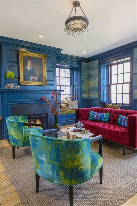 peacock blue living room hotel chic how to rock a peacock blue living room