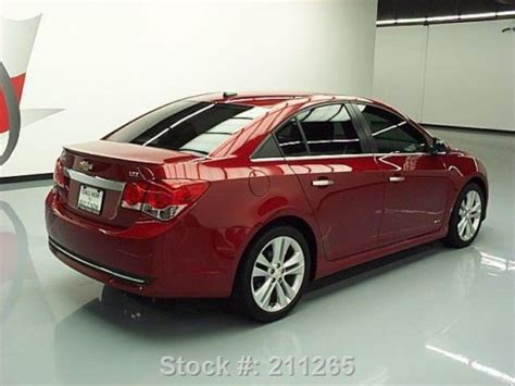 buy   chevy cruze ltz rs sunroof htd leather