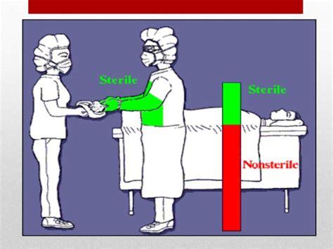 Sarung Tangan Steril konsep asepsis medikal dan sugikal