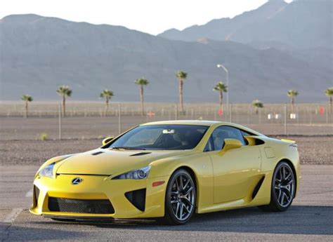 yellow lexus lfa ron s cvx16 project
