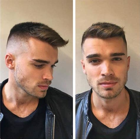 mens hair styles by hairline type best men s haircuts hairstyles for a receding hairline