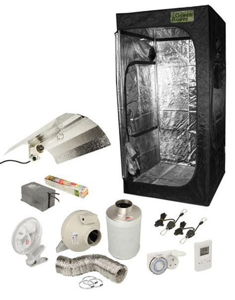 Grow Room Kit by Green Room Gr 100 Grow Tent Kit The Inner Garden