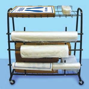 Floor Mat And Seat Cover Rack Seat Cover Dispenser Cart Floor Mat Storage Cart Service