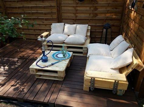 diy making   pallet patio furniture decor