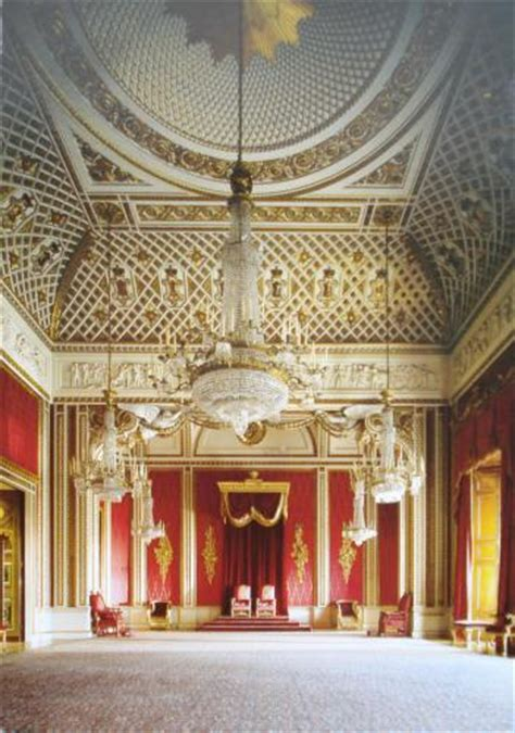 buckingham palace throne room postcard gb 223021 throne room buckingham palace
