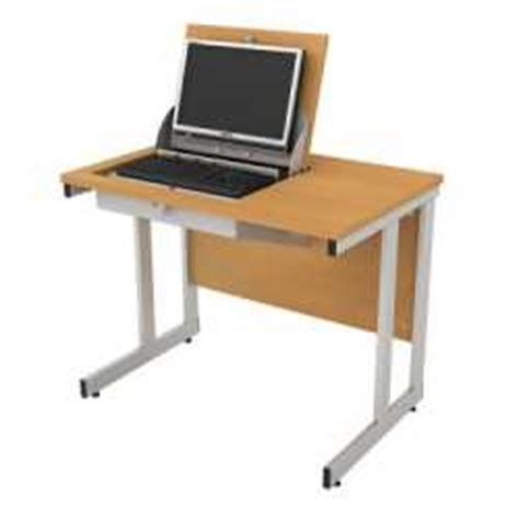 Flip Top Computer Desk Secure Flip Top Computer Desks No 1 Dual Desk Use Solution Mike O Dwyer Office Furniture