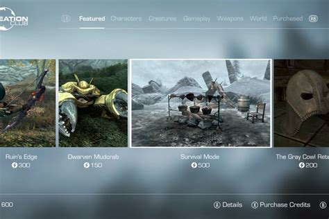 fallout 4 20 mod imperdibili per gli utenti xbox one il creation club di skyrim special edition arriva su steam