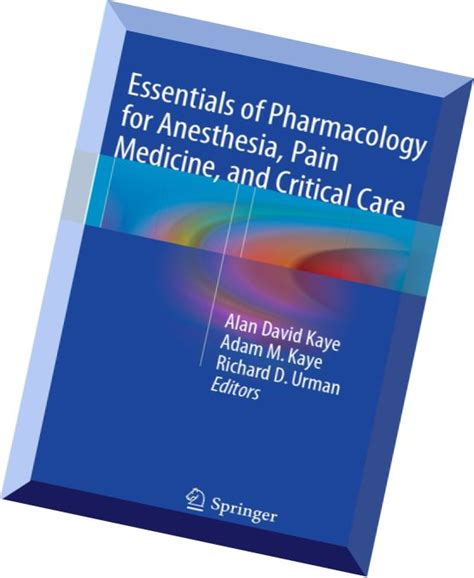 essentials of anesthesia books essentials of pharmacology for anesthesia