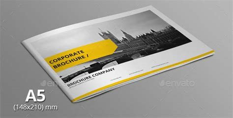 20 Corporate Brochure Templates For Business A5 Brochure Template Indesign