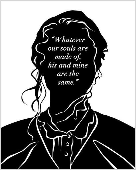 themes of love and revenge in wuthering heights literary art print wuthering heights catherine quote