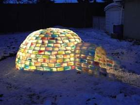 engineering student constructs magical rainbow igloo my