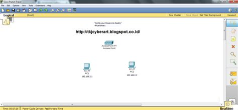 membuat jaringan wifi sederhana membuat jaringan wireless sederhana di cisco packet tracer