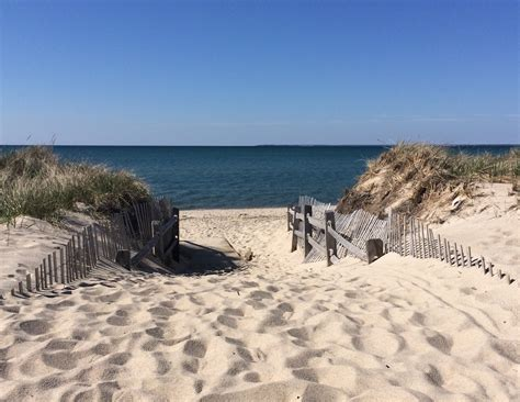 on the beach brewster beaches your bay vacation leighton realty