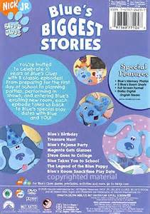 Blue S Clues Blue S Biggest Stories Dvd 2006 Dvd Empire